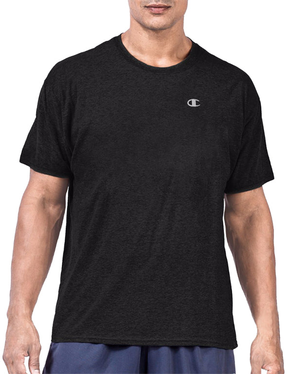 Black Front Big & Tall Mens Short Sleeve Jersey Tee