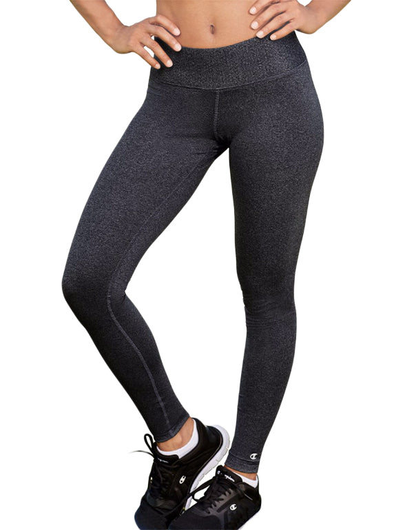 Champion Womens Absolute Tights With SmoothTec Granite Heather L 078715992798
