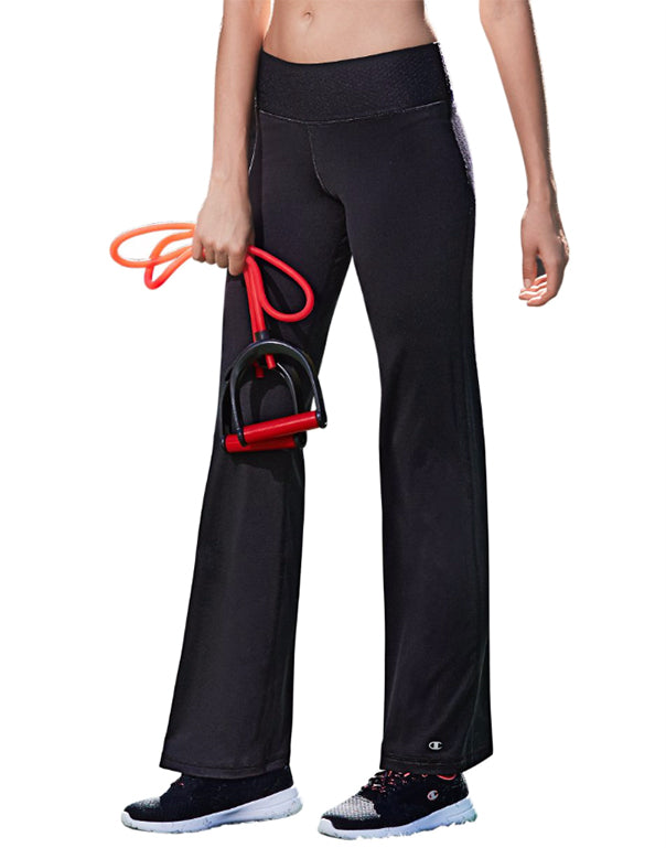 Champion Womens Absolute Semi Fit Pant Black L 078715997328