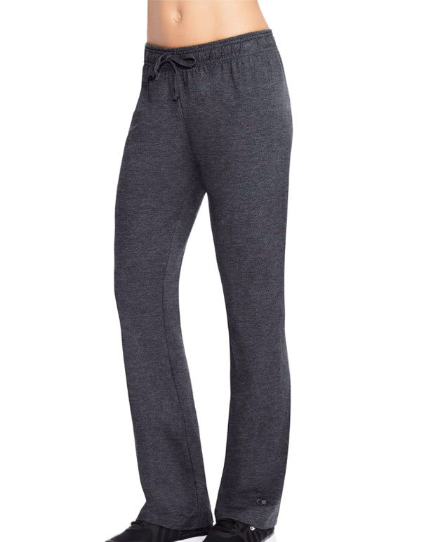 Champion Womens Authentic Jersey Pants Granite Heather L 078715157401