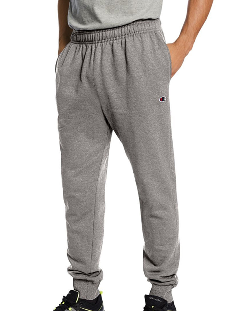 Oxford Heather Front Champion Mens Powerblend Retro Fleece Jogger Pant P1022 549314