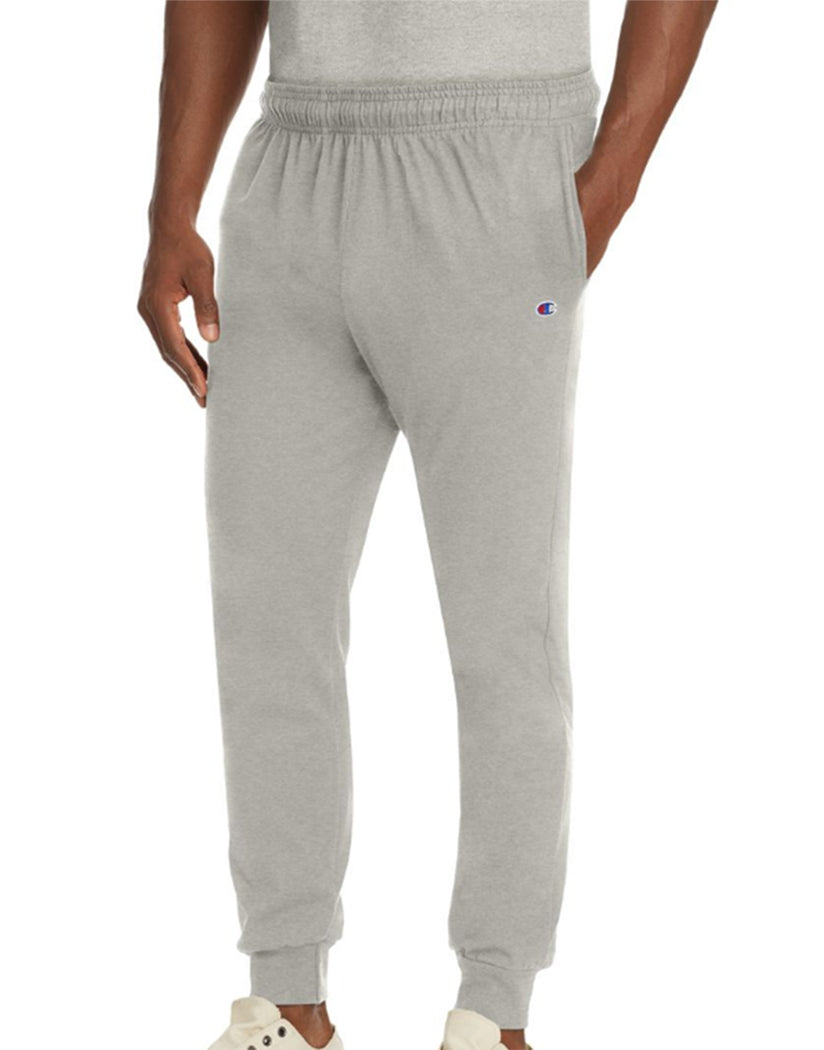 Champion Mens Jersey Jogger Oxford Grey L 738994402387