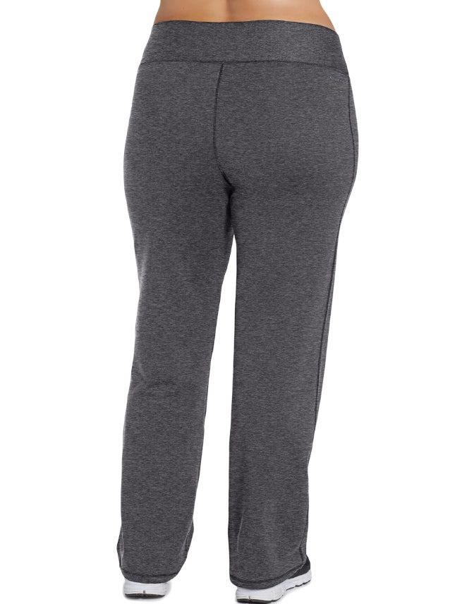 89e42e320504 Granite Heather Back Champion Womens Plus Absolute Semi-Fit Pants with  SmoothTec