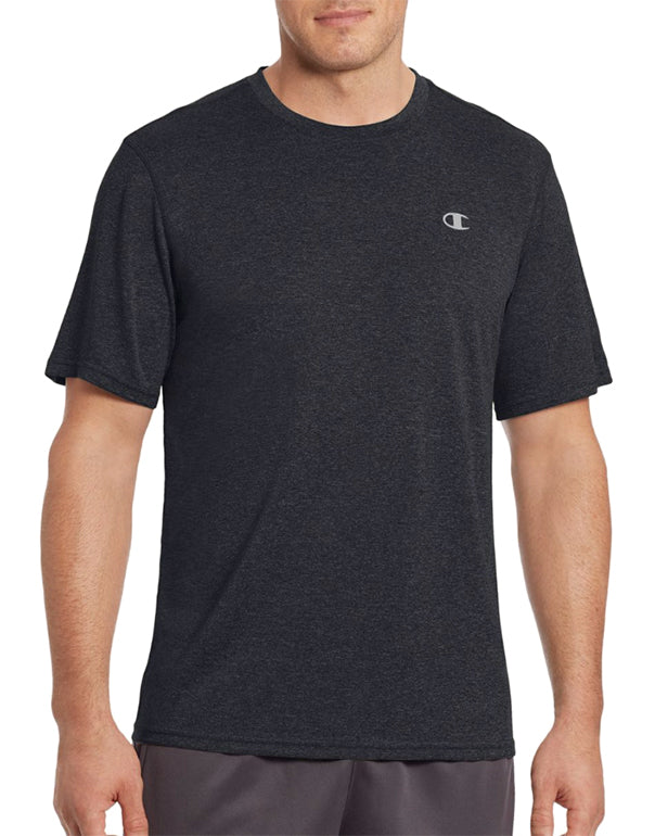 Champion Mens Champion Vapor Men's Heather Tee Black Heather L 078715943585