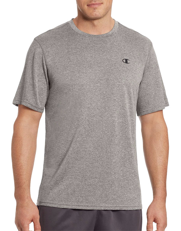 Champion Mens Champion Vapor Men's Heather Tee Oxford Grey M 078715943523