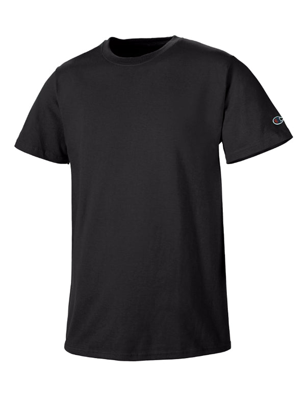 Champion Mens Champion Basic Tee Black M 011919032730
