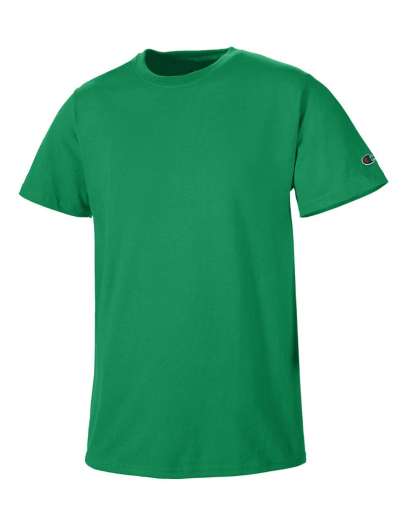 Kelly Green Front Champion Basic Tee