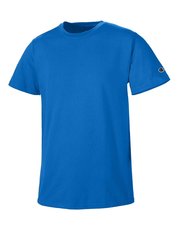 Royal Blue Front Basic Tee