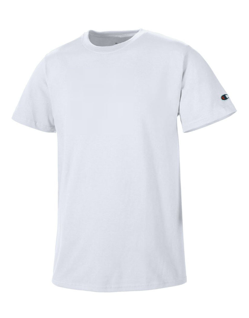 Silver Grey Front Champion Basic Tee