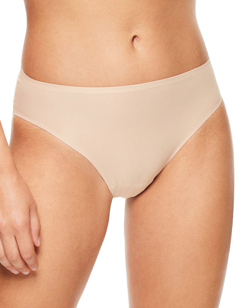 Ultra Nude Front Chantelle Soft Stretch French Cut Brief 1067