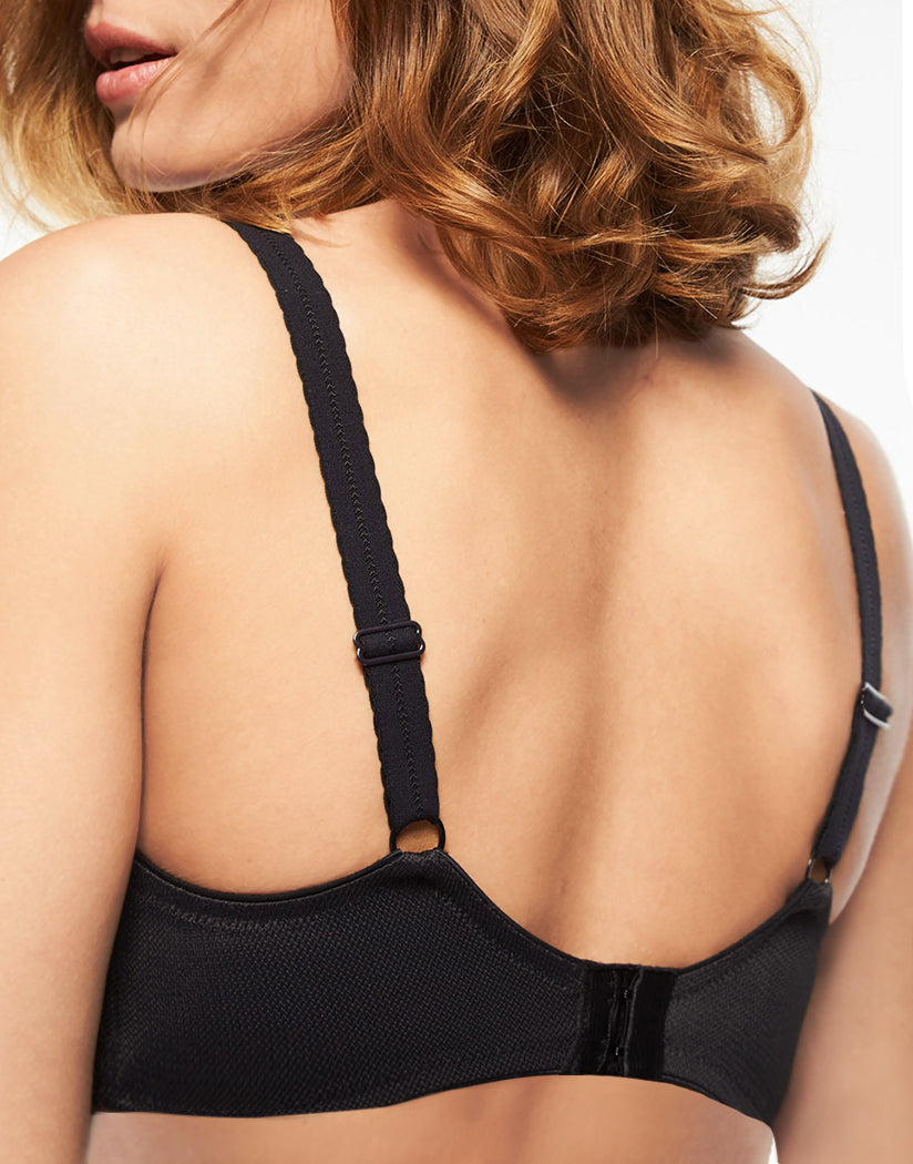 Black Back Chantelle Amazone Underwire Bra