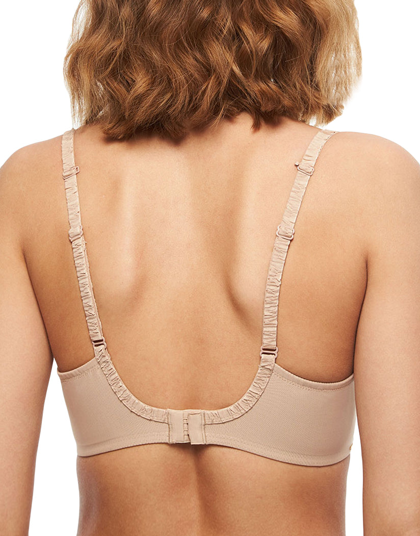 Nude Back Chantelle Unlined Plunge Bra 2231