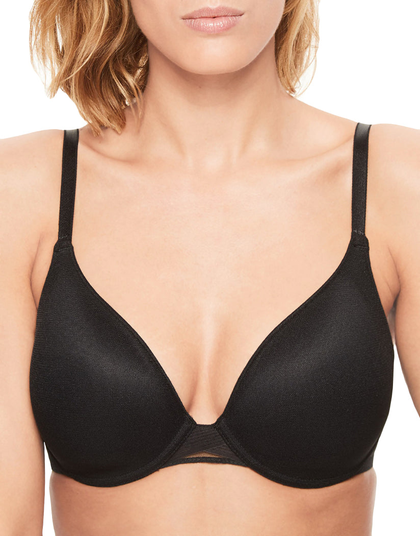 af05988e95d2c Black Front Chantelle C Smooth Full Coverage T-Shirt with Smoothing Back Bra  2906
