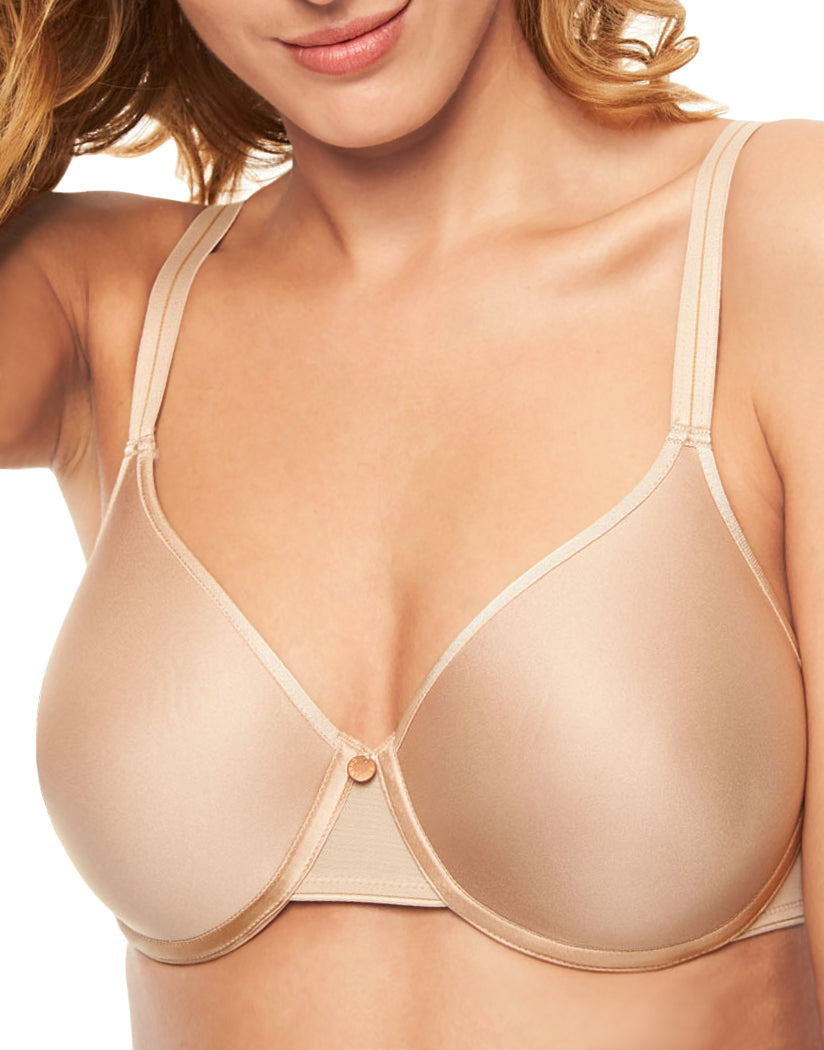 a6cbec77313 Nude Front Chantelle C Essential Full Coverage T-Shirt Bra