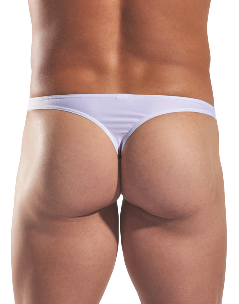 White Pointer Back Cocksox Swim Thong CX22