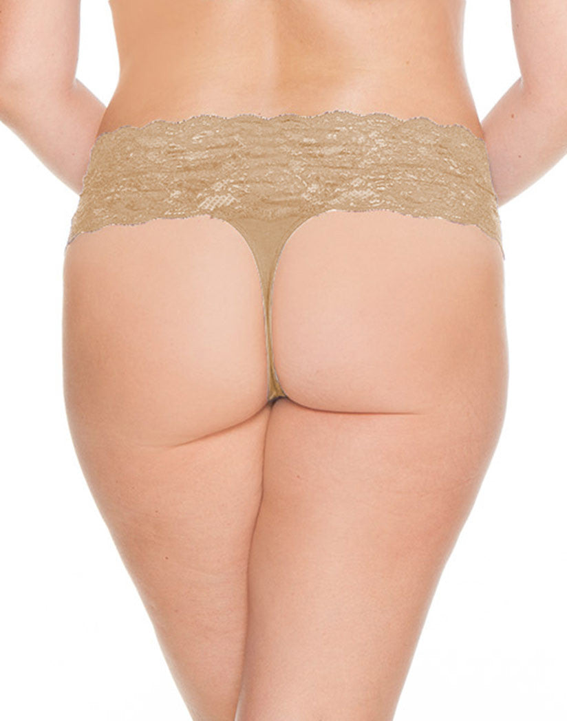 Blush Back Cosabella Never Say Never Lovelie Thong Plus Size