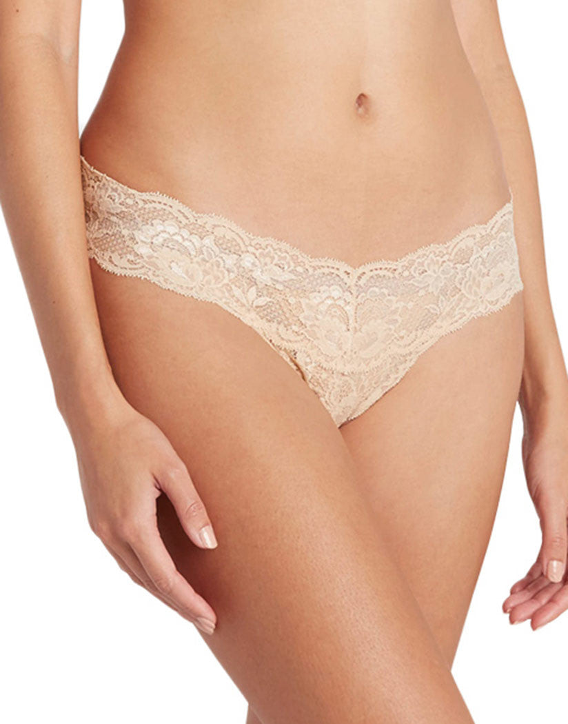 Blush Front Never Say Never Cutie Thong