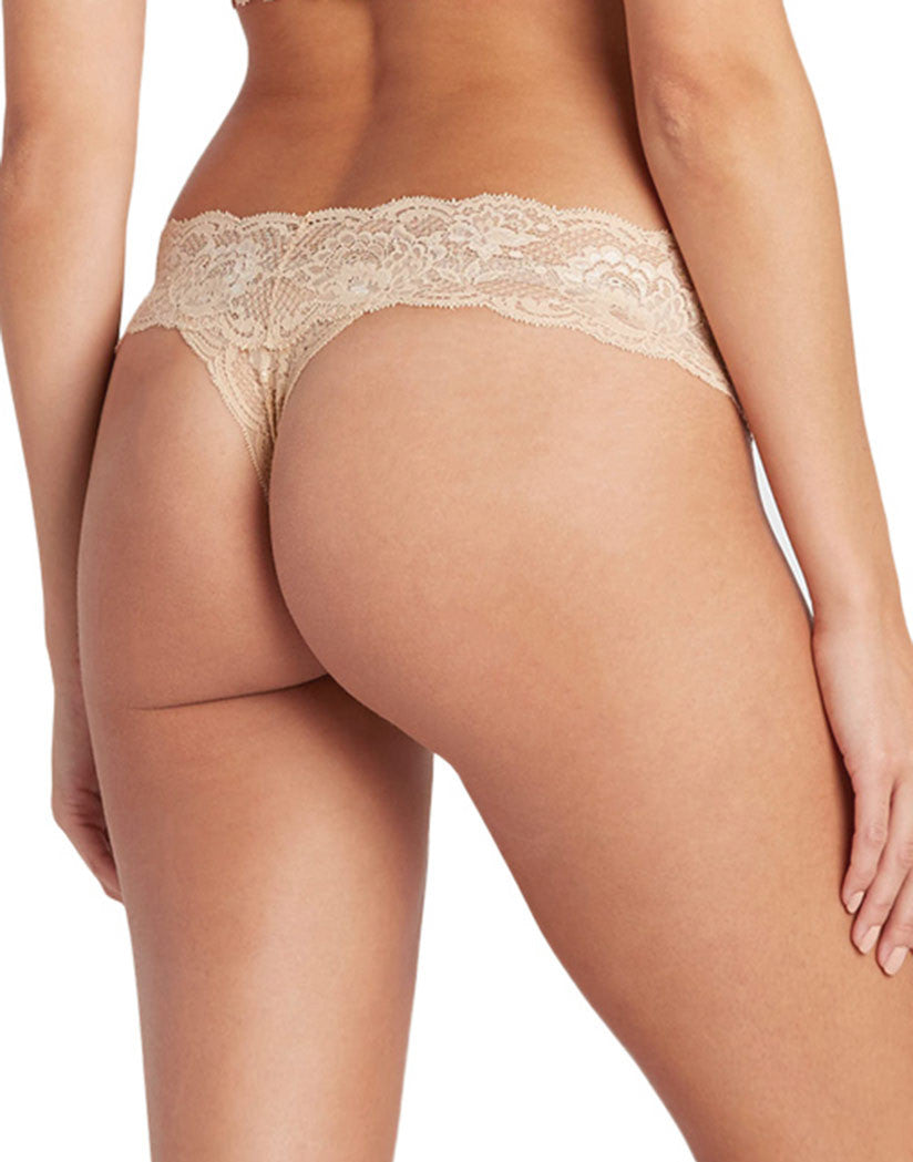 Blush Nude Back Cosabella Never Say Never Cutie Thong NEVER03ZLBOW
