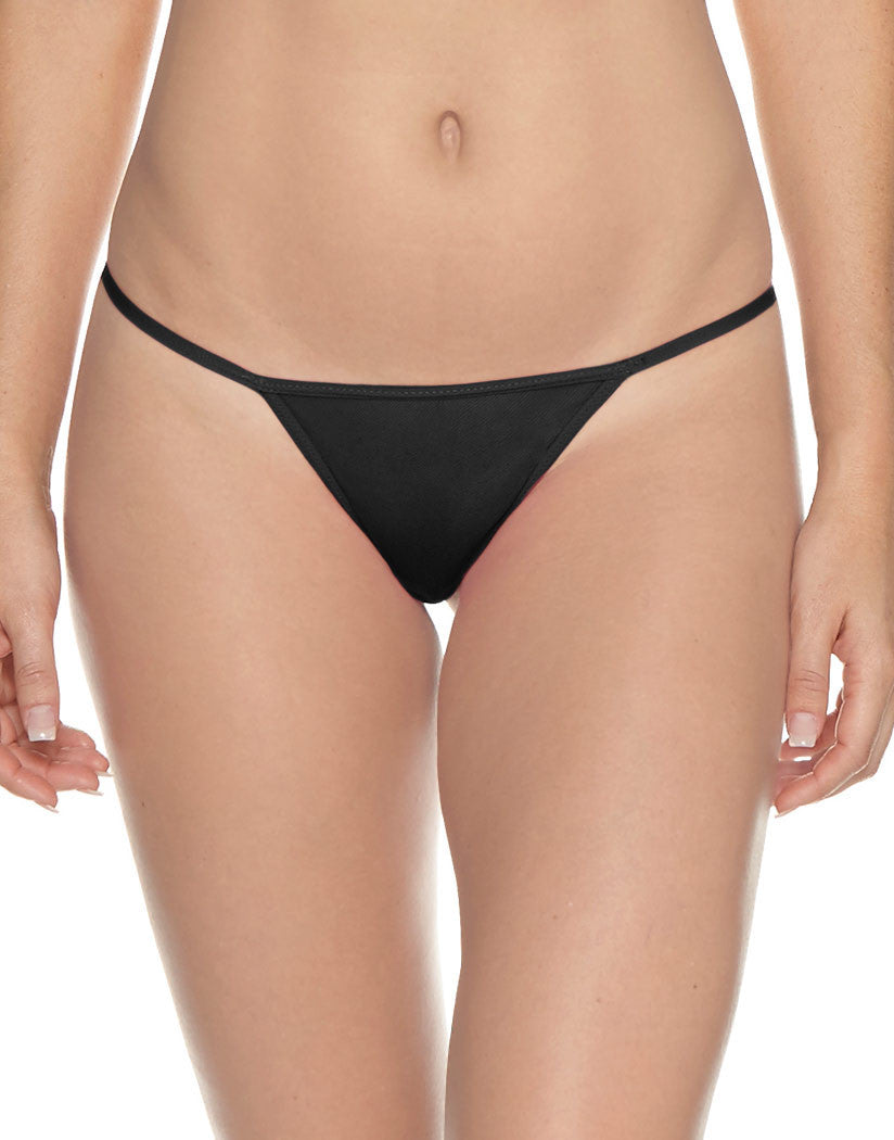 Black Front Soire G-String