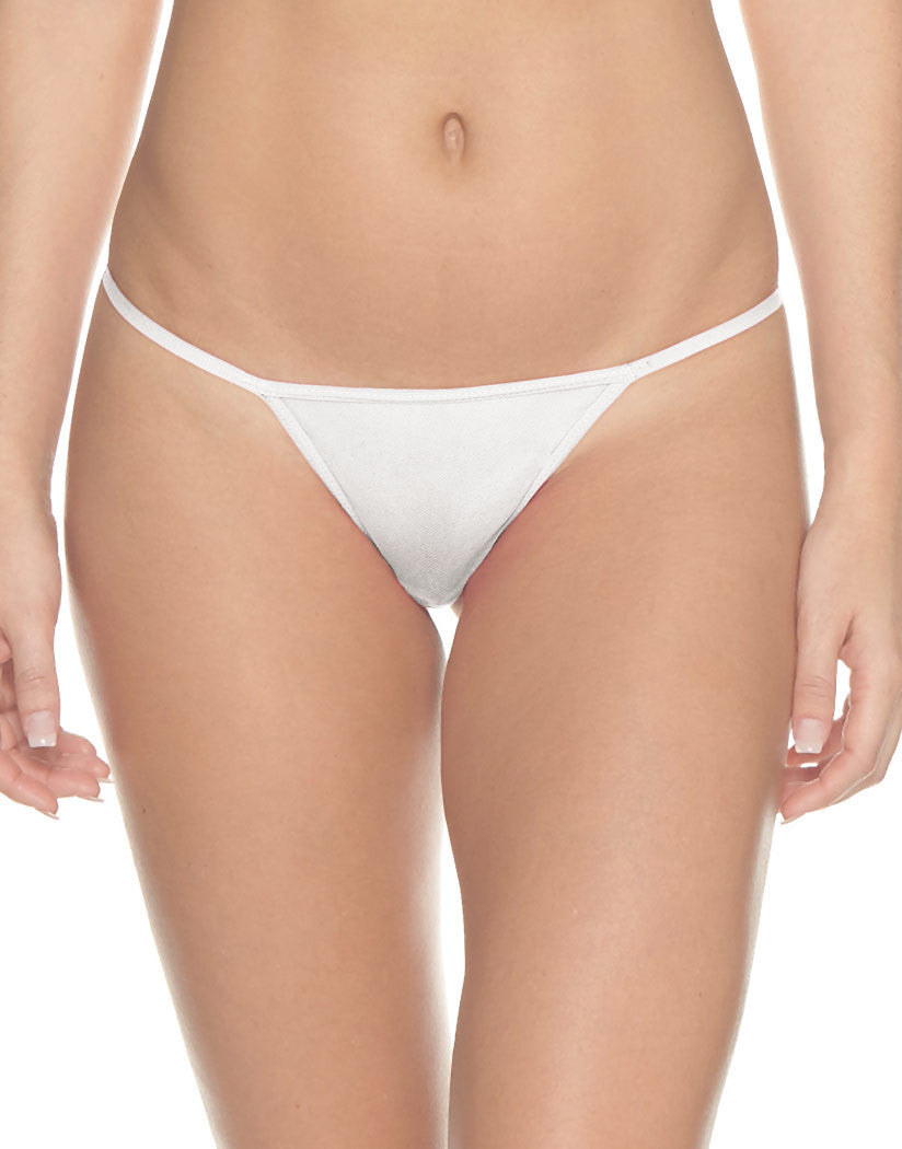 White Front Soire G-String