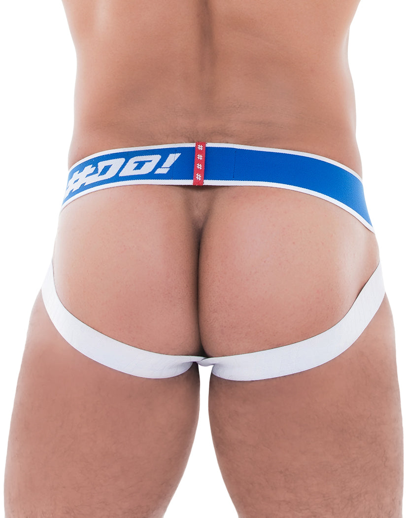Red/Blue Back Pure Jock Red/Blue