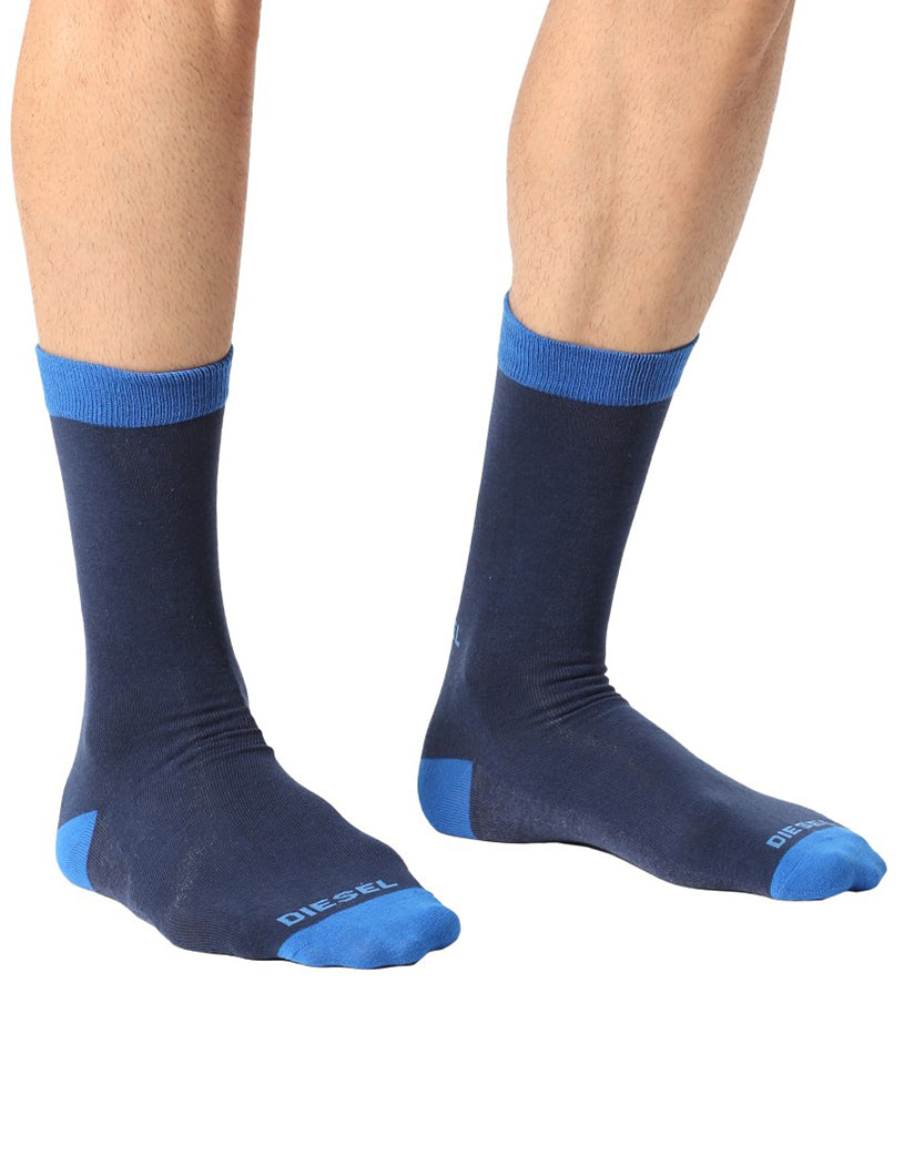 Blues Assorted Front Diesel The Blues Assorted Socks 3 Pack