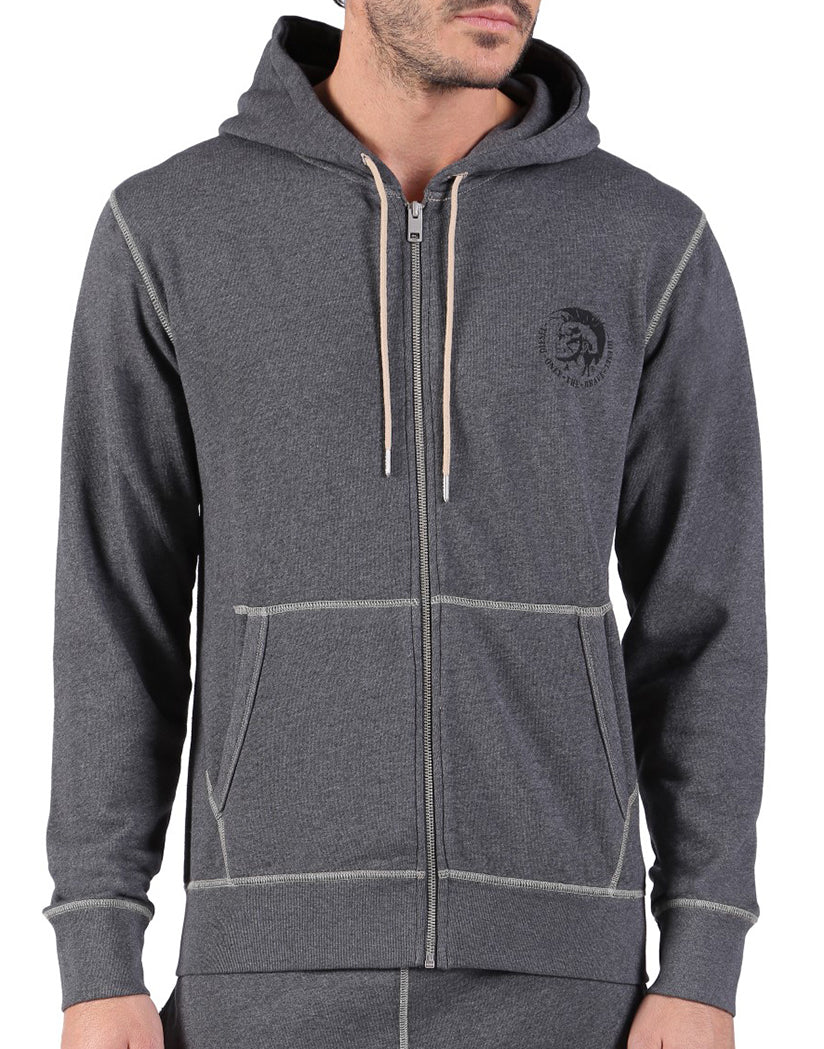 Melange Grey Front Brandon Z Sweat Shirt
