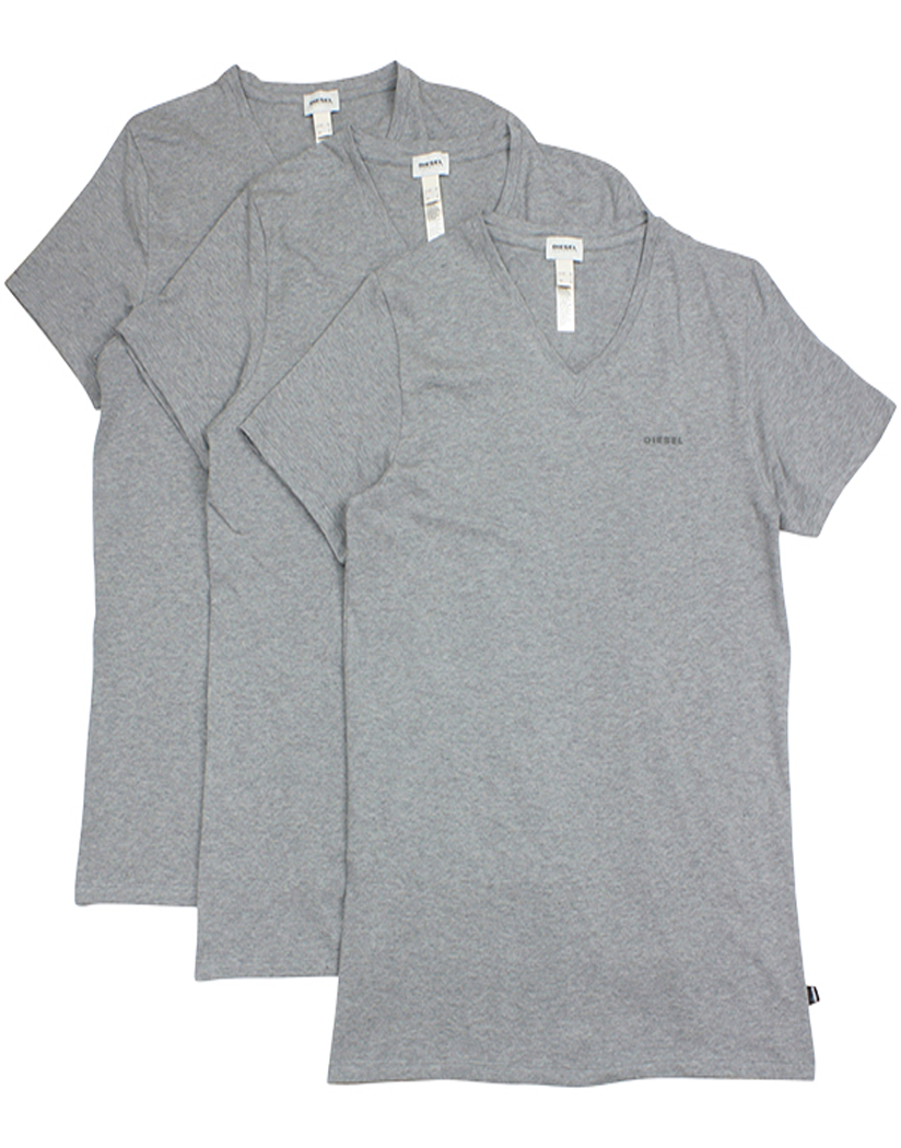 Diesel Michael 3-Pack V Neck T Medium Grey M 8059966266250