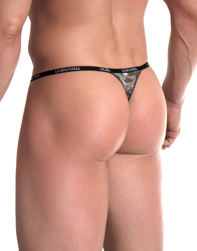 PRN Back Doreanse Camouflage Thong 1312