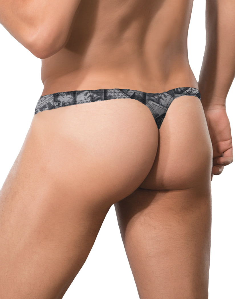 Newspaper Print Back Doreanse News Thong