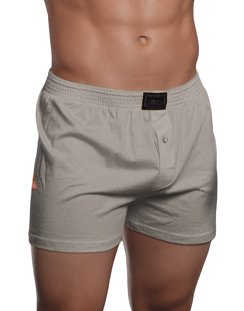 Gray Front Doreanse Essential Homey Boxer 1511