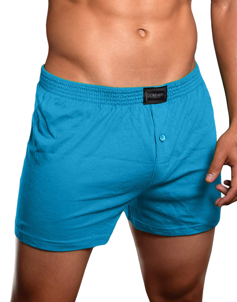 Turquoise Front Doreanse Essential Homey Boxer 1511
