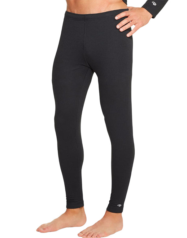 Duofold Men Duofold by Champion Varitherm Performance 2-Layer Mens Thermal Pants Black S 043935435509