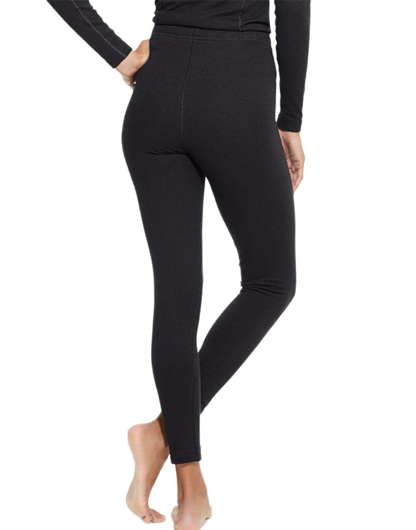 Black Back Duofold by Champion Varitherm Performance Womens Thermal Pants KEW4