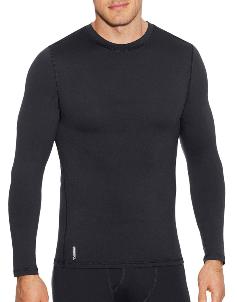 Duofold Mens Flex Weight Crew Black L 617914372668