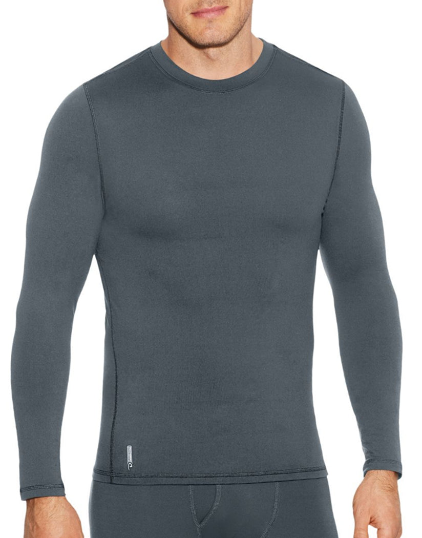 Thundering Grey Front Duofold Men Flex Weight Crew KFX1