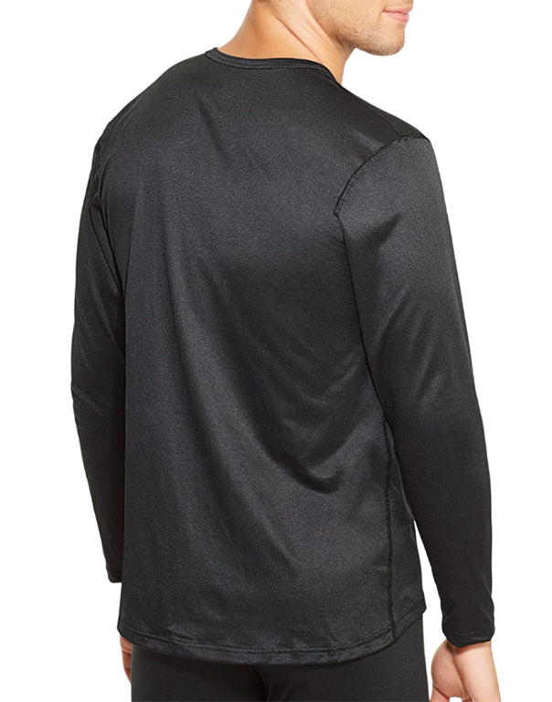 Black Back Duofold by Champion Varitherm Mens Long-Sleeve Thermal Shirt KMC1