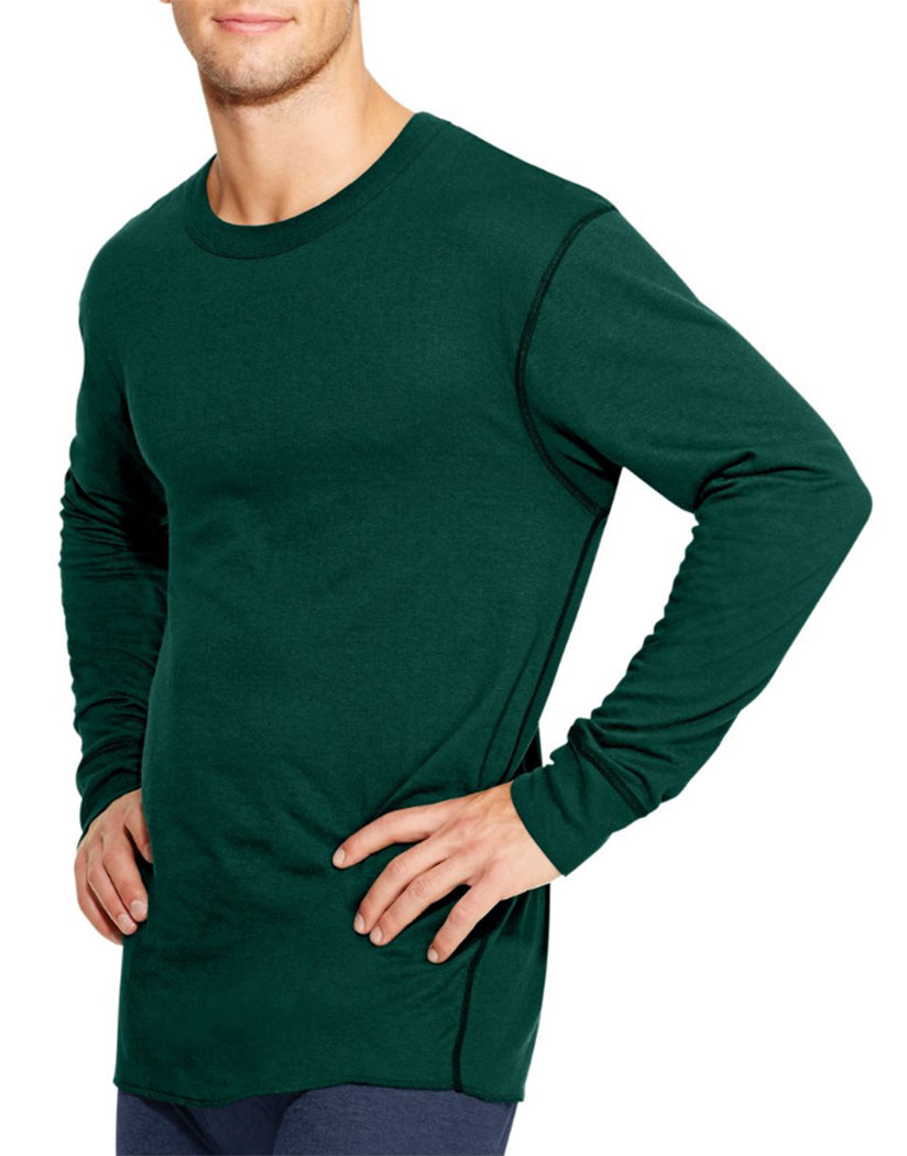 Forest Grove Front Duofold by Champion Thermals Men's Long-Sleeve Base-Layer Shirt KMW1