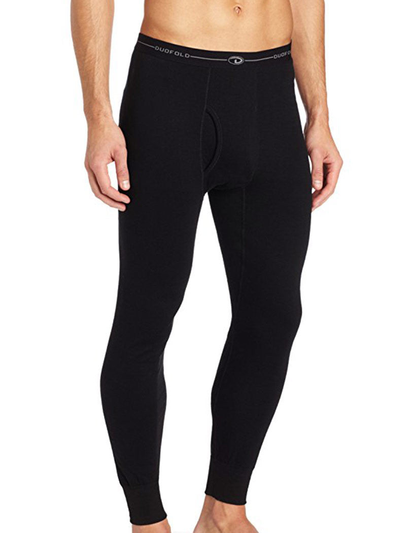 Duofold Men Duofold by Champion Thermal Pants Black S 043935435943