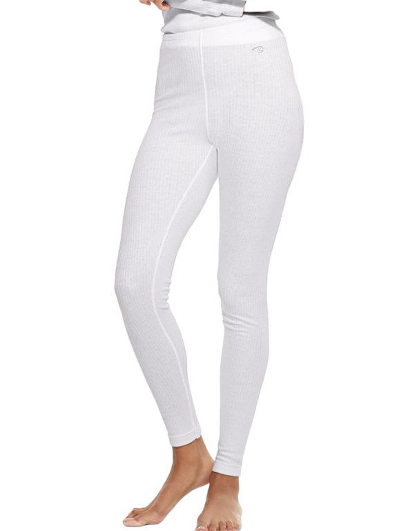 Winter White Front Duofold by Champion Thermals Womens Base-Layer Underwear