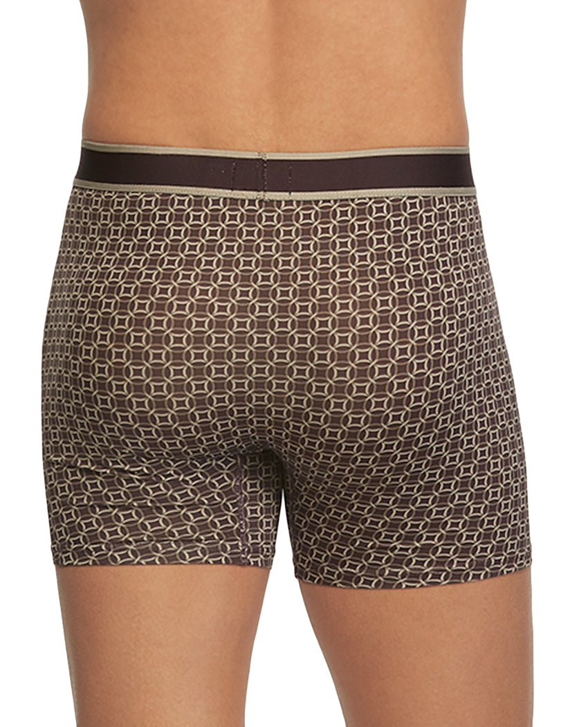 Nightshade Circles Back English Laundry Poly Stretch Boxer Brief Night Shade Circles