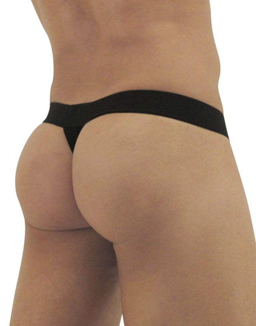 Black-Gray Back Ergo Wear Max Light Thongs