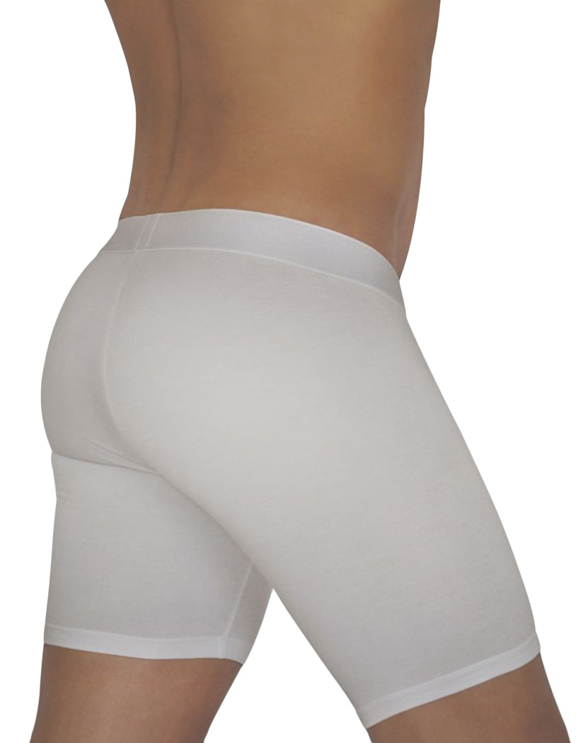 White Back ErgoWear FEEL Modal Long Boxer Brief