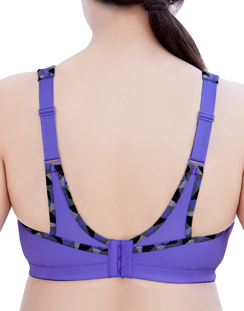 Purple Back Glamorise No Bounce Cami Sports Bra 1066