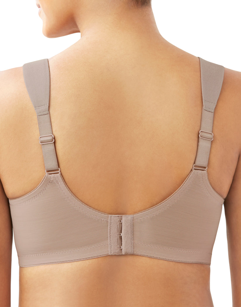 Taupe Back Glamorise Everyday Seamless Support T-Shirt Bra 1080