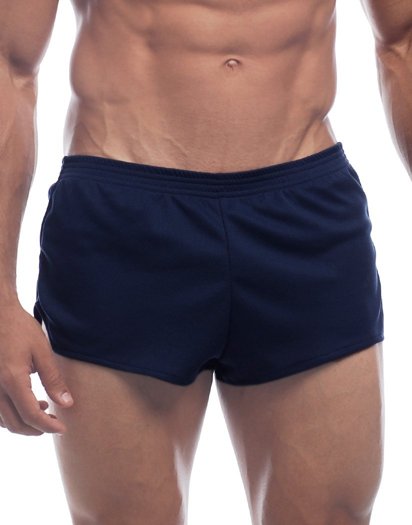Navy Front Go Softwear AJ Ultra Running Short 8316