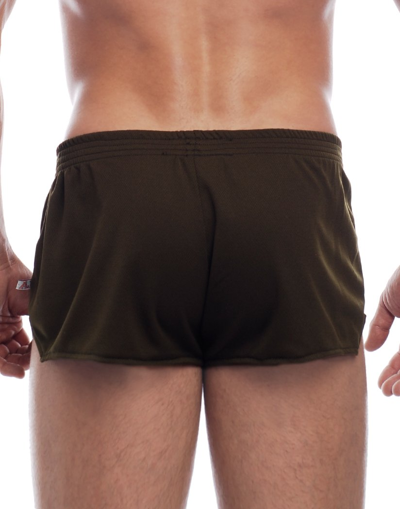 Olive Back Go Softwear American Jock Ultra Running Short