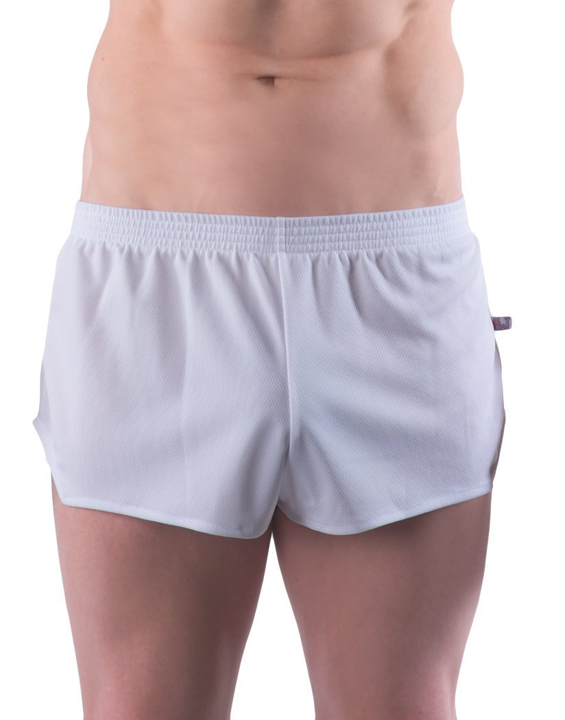 White Front Go Softwear AJ Ultra Running Short 8316