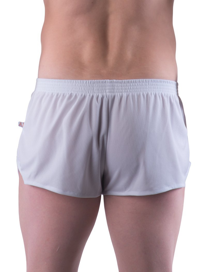 White Back Go Softwear AJ Ultra Running Short 8316