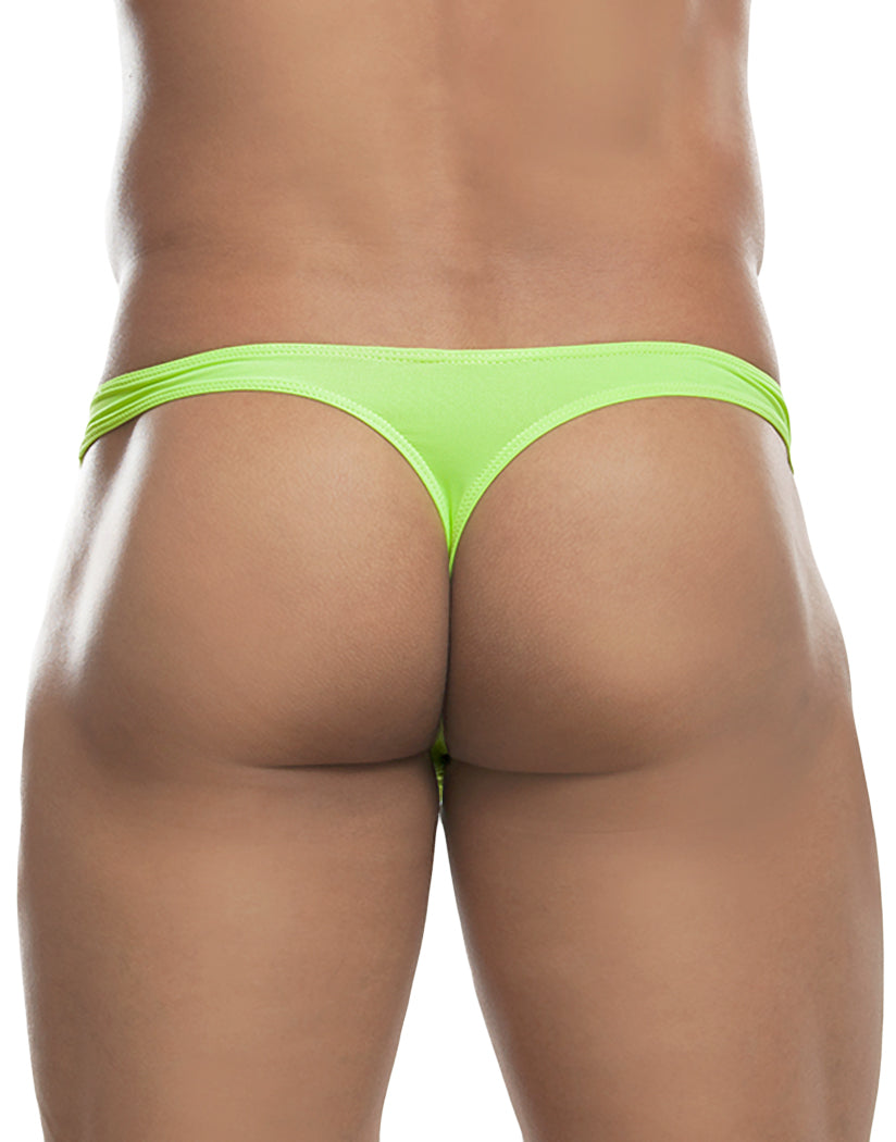 Lime Back Extreme Contour Thong Lime